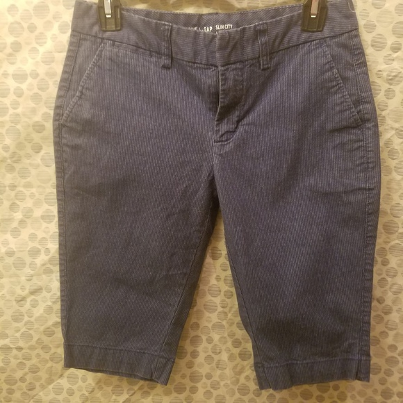 0 GAP Soft Denim Casual BERMUDA shorts L22